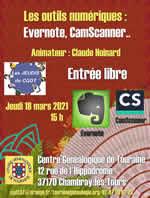Les outils numériques : Evernote, CamScanner...