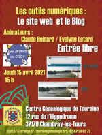 Les outils numériques : Le site Web et le Blog